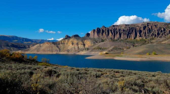 Autumn on Blue Mesa