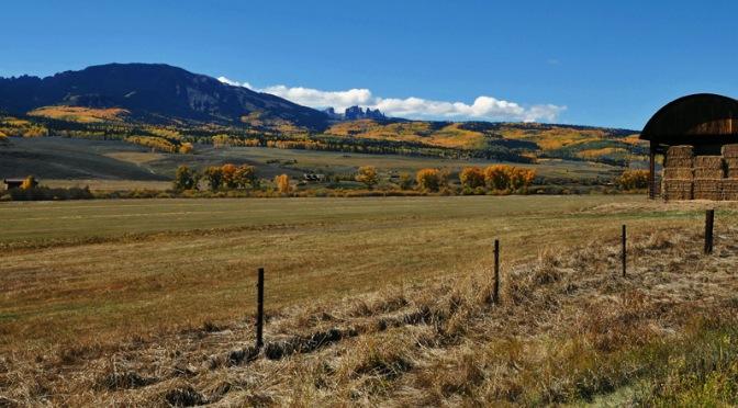 Harvest: Castleton Ranch, Gunnison, Colorado
