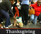 Thanksgiving is now Black Thursday and Black Friday is upon us: what should America not be thankful for?
