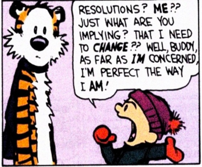 The most common New Years resolutions and me in 2017