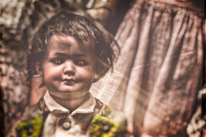 vintage dolls - Little-Master