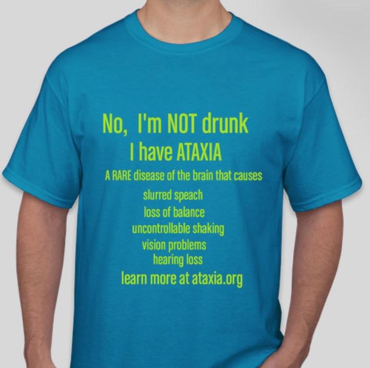 Spinocerebellar ataxia t-shirt