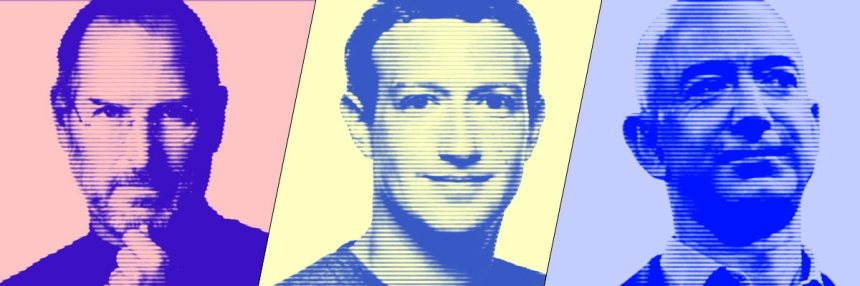 Jobs-Zuckerberg-Bezos
