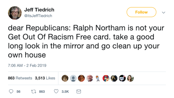 get out of racism free card jeff tiedrich