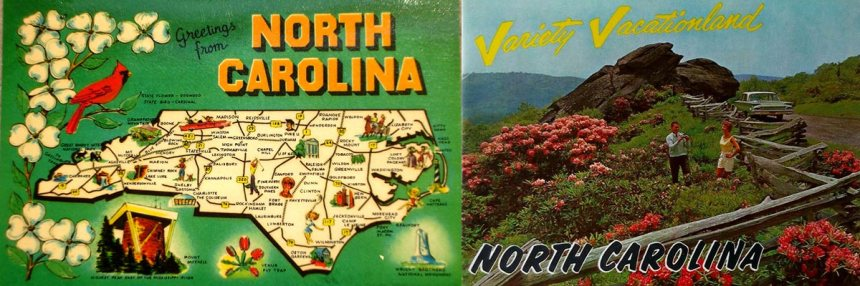 North-Carolina-variety-vacationland-postcards