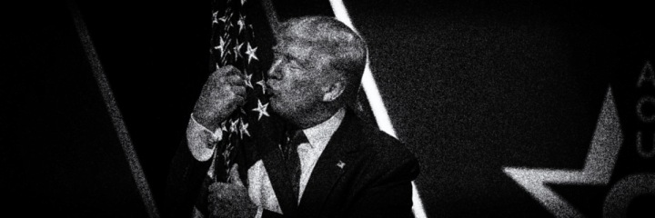 Trump-kissing-flag
