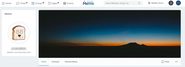 MeWe-screen-shot