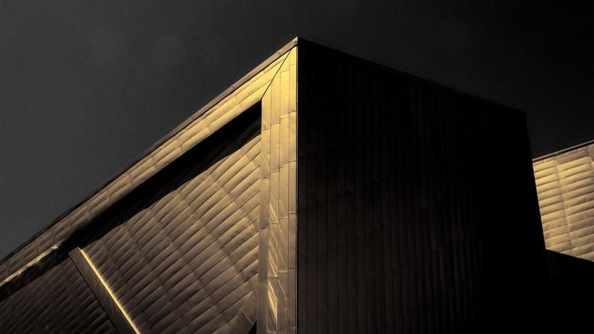 Grey and Gold: Denver Art Museum