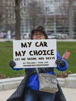 my car my choice drunk driving is a right